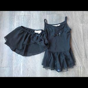 Ballet leotard and skirt
